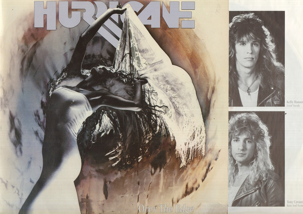 HURRICANE - Over The Edge LP