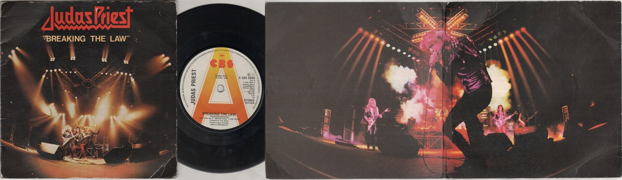 JUDAS PRIEST - Breaking The Law Record
