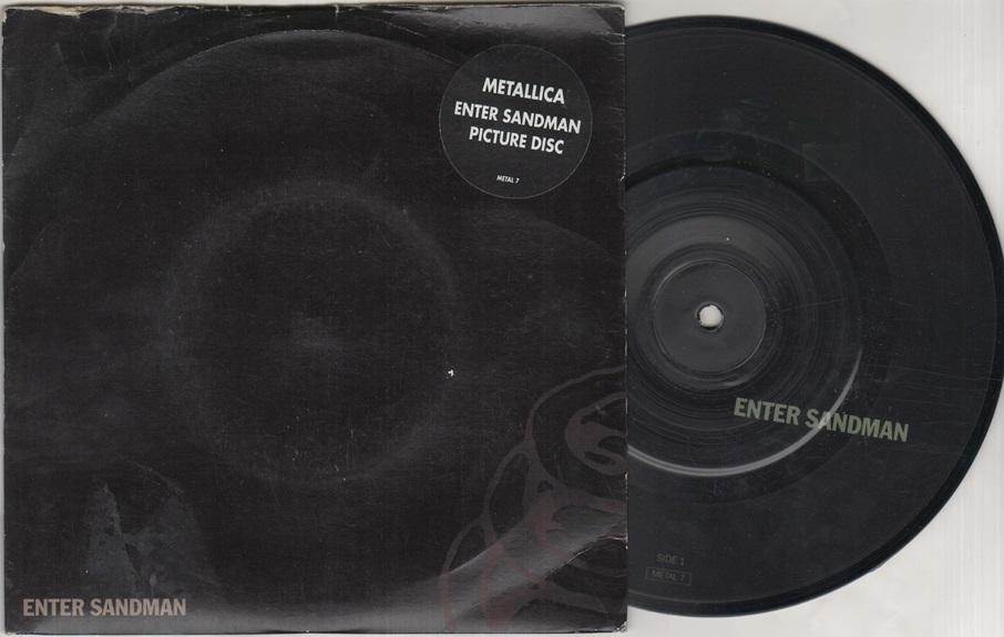 METALLICA - Enter Sandman LP