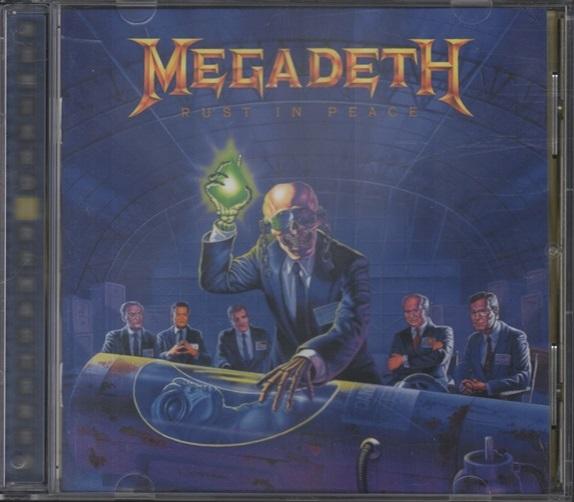 Megadeth Rust In Peace Cd Megadeth Rust In Peace...