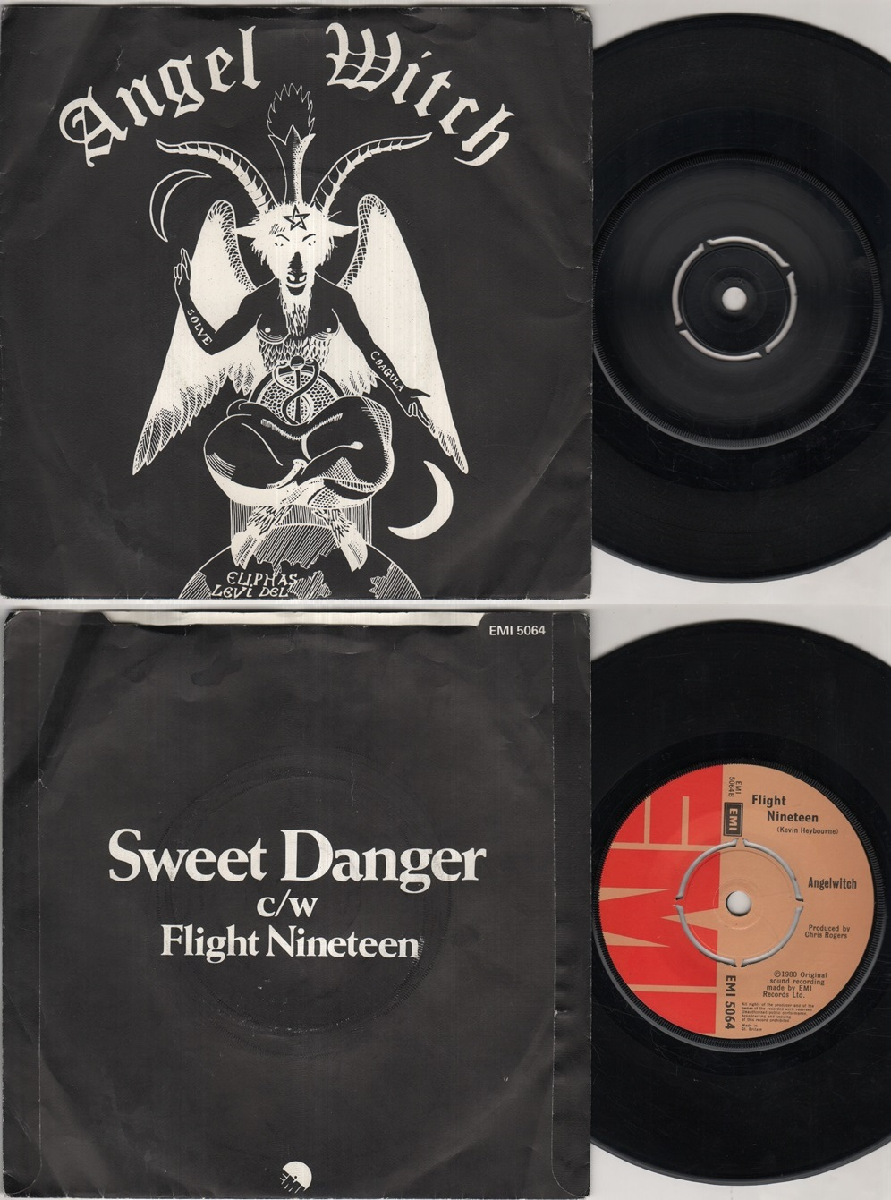 ANGEL WITCH - Sweet Danger Record