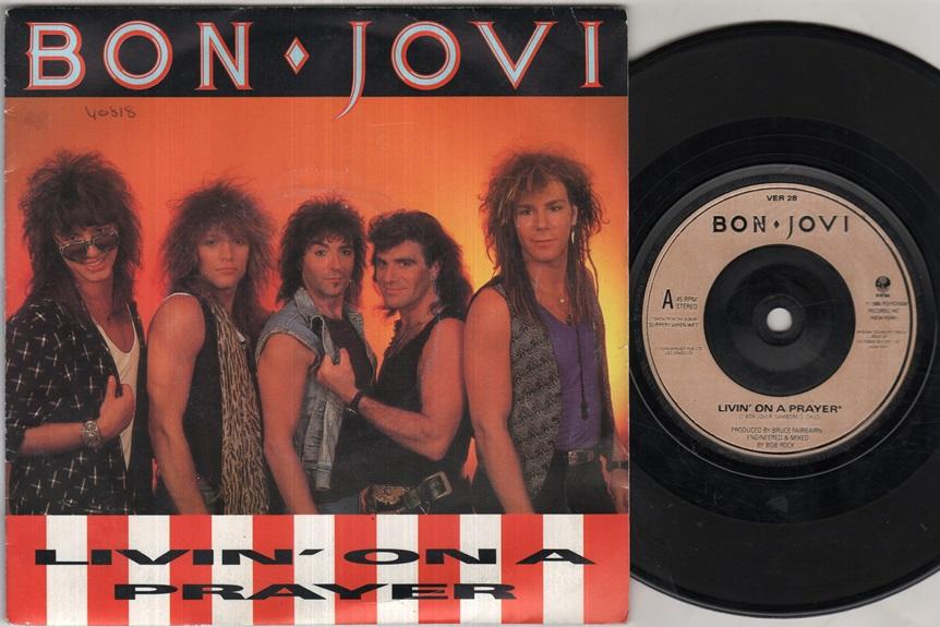 BON JOVI - Livin On A Prayer Album
