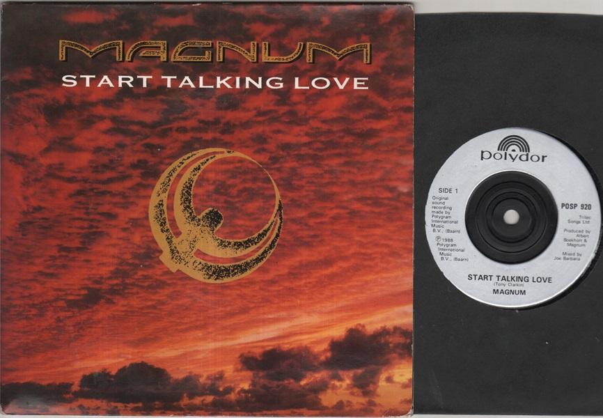 MAGNUM - Start Talking Love Single