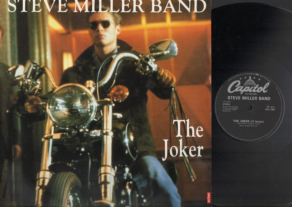STEVE MILLER BAND - The Joker Record