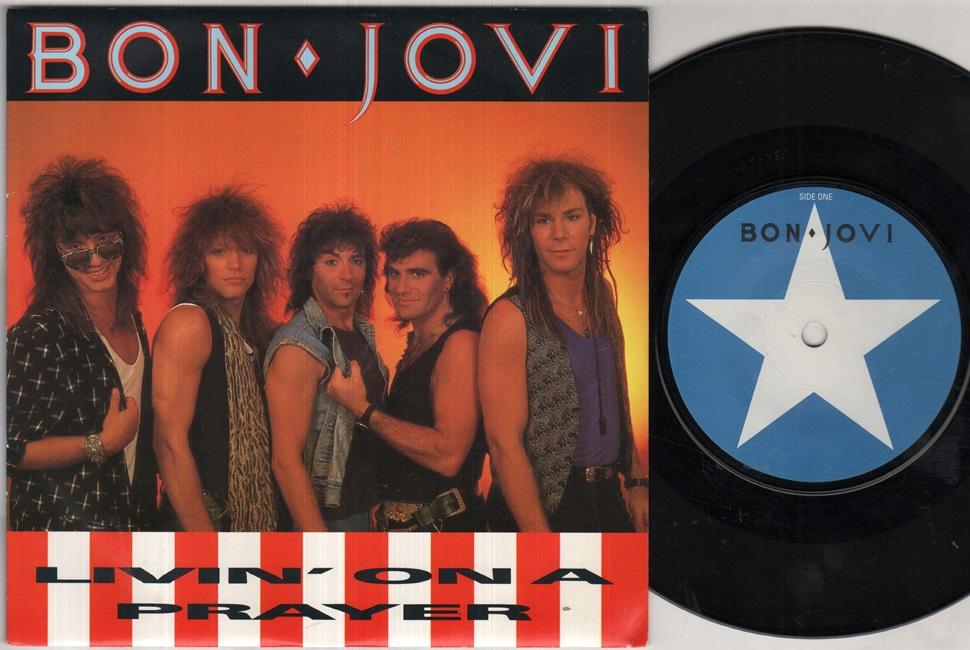 BON JOVI - Livin On A Prayer Record